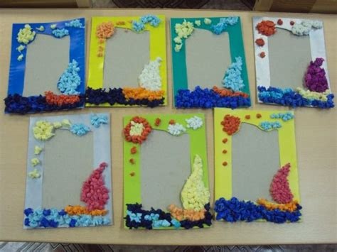 How To Make Handmade Photo Frames For - craft project for make grandparents day gift photo