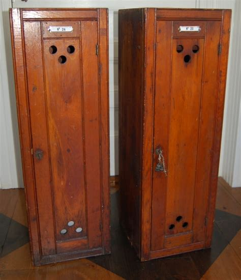 yellow chair market 187 antique wooden lockers