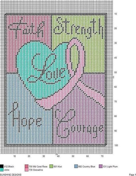 free patterns in plastic canvas 24 best plastic canvas awareness ribbons images on
