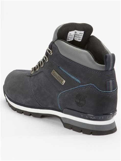 timberland splitrock mens boots in blue for navy lyst
