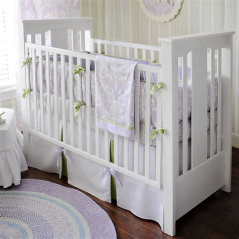 Sweet Violet Crib Bedding Set By New Arrivals Inc New Arrivals Crib Bedding