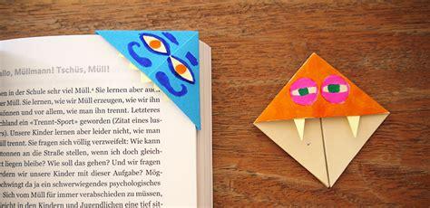Lesezeichen Basteln Kinder by Lesezeichen Basteln Mit Kindern