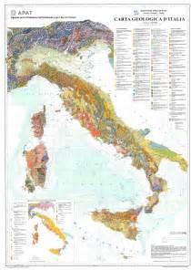 quot new quot geologic map of italy 1 1 250 000 in italian