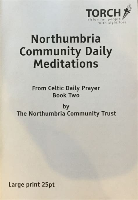 daily prayer with the corrymeela community books meditations from celtic daily prayer book 2 print