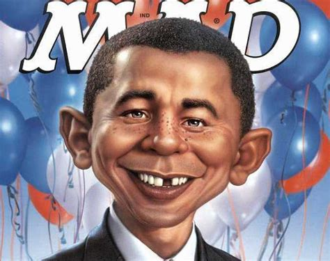 alfred newman mad magazine obama what me worry sign s being burned