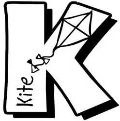 letter k coloring page letter k coloring page