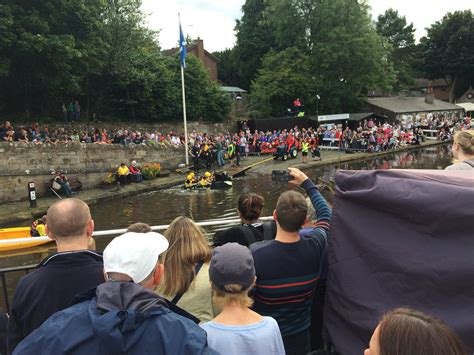 linlithgow cardboard boat race 2018 canal fun day linlithgow riverlife