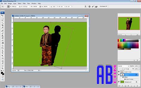 cara membuat bayangan logo di photoshop cara membuat effect bayangan di photoshop abangbaim