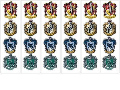 printable hogwarts house badges hogwarts bookmarks if interested in a free printable