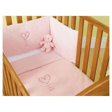 cot bedding sets pink buy zorbit cot cotbed bedding set pink from our all