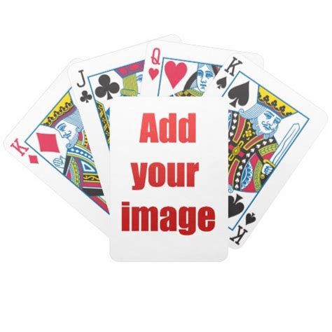 Custom playing cards   Zazzle