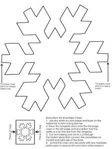 snowflake template snowflake chain template