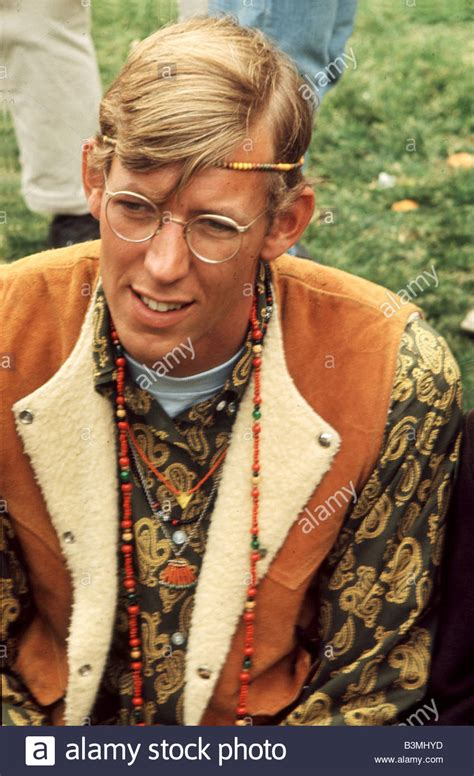 Flower Power Style by Flower Power Style At A Gathering In San Francisco In 1967