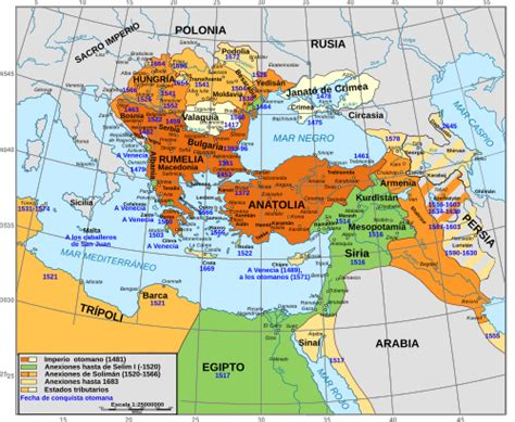 imperio otomano mapa guerras otomanas en europa la enciclopedia libre