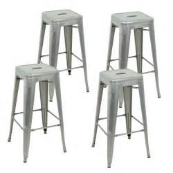 metal kitchen bar stools 4pcs 30 quot clear metal counter bar stools seat chair barstools kitchen table ebay