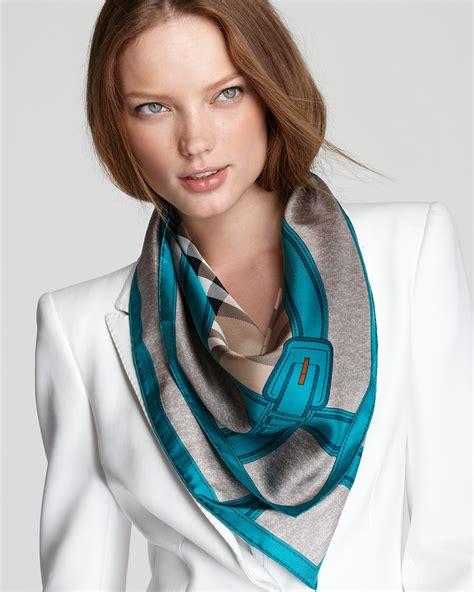 burberry haymarket autumn color silk scarf bloomingdale s