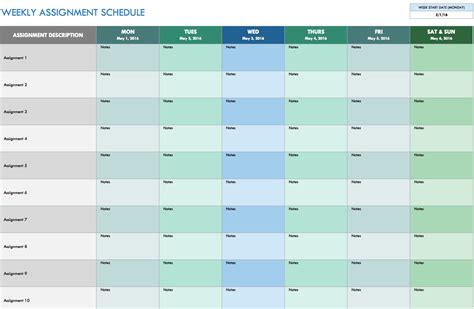 weekly work planner template 28 images how we keep it together
