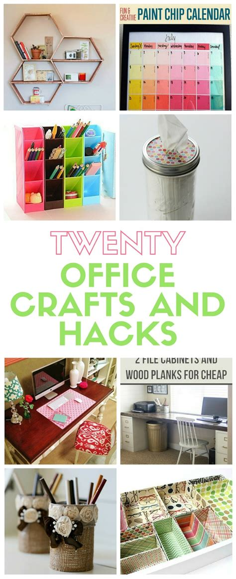20 office crafts and hacks the crafty stalker