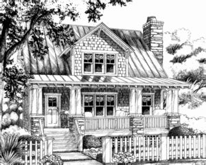 aberdeen cottage cottage living print southern