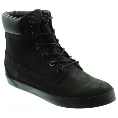 black timberland boots for timberland glastenbury 6 inch lace boots in black in black