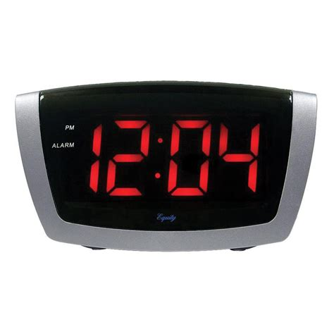 Obeng Led 8 In 1 maxiaids digital alarm clock with 1 8 inch jumbo led