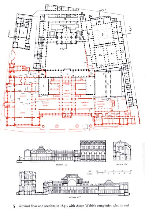 victoria and albert museum floor plan plan sheet a the victoria and albert museum british