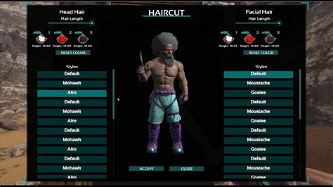 hairstyles ark survival ark scorched earth checking out the hair update w