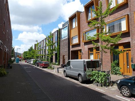 Row Of Houses - housing borneo sporenburg in amsterdam netherlands