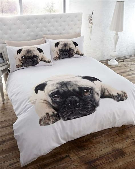 pug bed sheets a pug themed bedroom for dog lovers 183 the inspiration edit