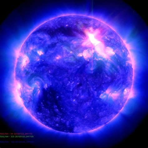solar flare lights solar hits earth national geographic society blogs
