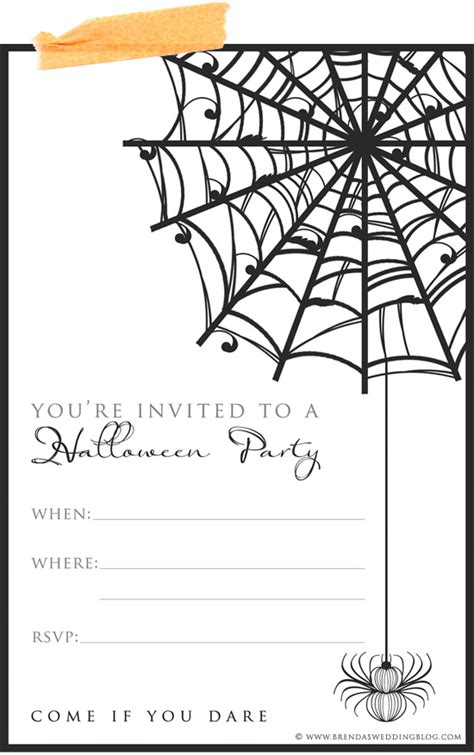 9 fun amp stylish ideas for halloween weddings a printable