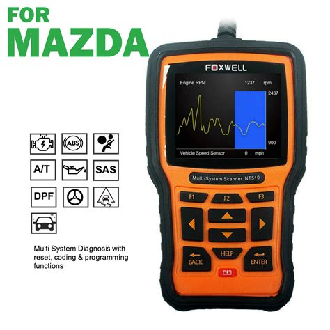 mazda scan tool obd scan tool for mazda abs srs service reset reader