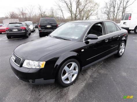 brilliant black 2004 audi a4 3 0 quattro sedan exterior photo 47421306 gtcarlot