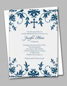 free printable confirmation invitations template free printable confirmation invitation templates