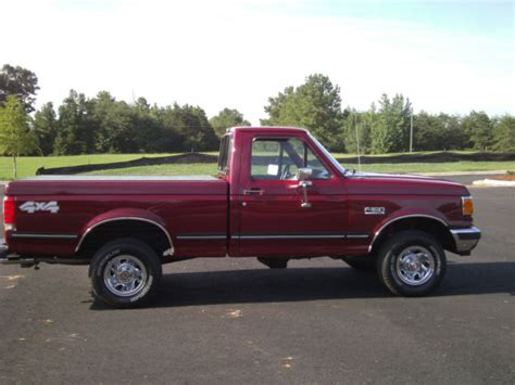 f150 short bed 1990 ford f150 reg cab short bed xlt 5 0 automatic all