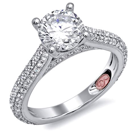 designer engagement ring demarco bridal jewelry official