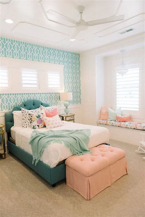 coral turquoise bedroom 25 best ideas about bedroom designs on pinterest