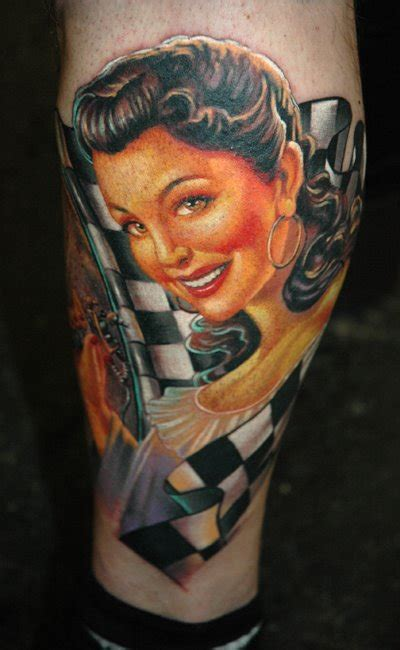 pin up tattoo design pin up fresh ideas