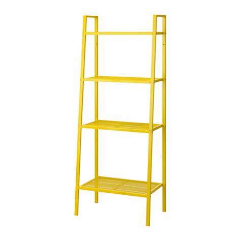 Yellow Shelf by Lerberg Shelf Unit Yellow