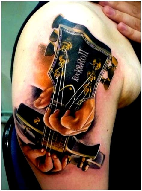 guitar sleeve tattoo designs 24 great guitar designs acoustic guitar