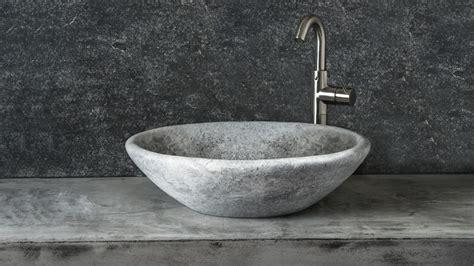 lavabo in travertino per bagno lavabo da bagno ovale in travertino grigio quot quot pietre