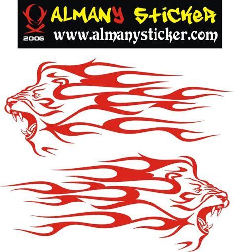 alevli aslan sticker