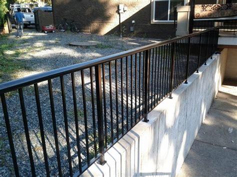 Exterior Railings Exterior Railing Contemporary Home Fencing And Gates