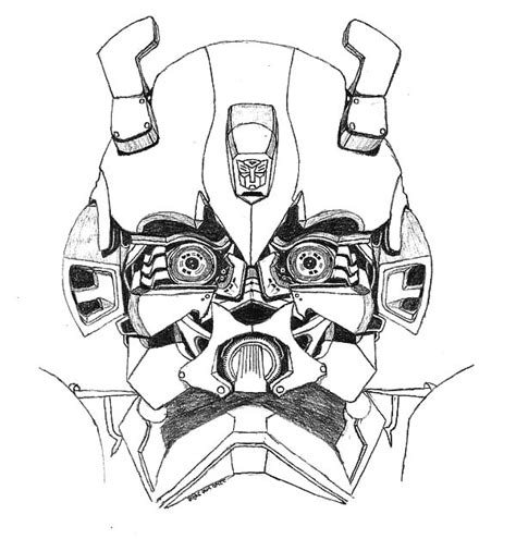 transformers car coloring page transformers bumblebee car head picture coloring pages