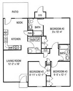 Floor Plans 3 Bedroom Ranch by Hunters Run Everyaptmapped Lebanon Oh Apartments