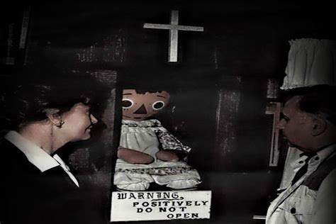 lorraine warren y annabelle doll annabelle the porcelain menace westerner world