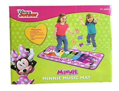 Disney Musical Mat Minnie Mouse - disney minnie mouse mat electronic piano toys