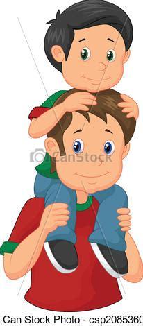 imagenes de madre e hijo de caricatura vector clip art de el suyo dar padre hijo cerdito