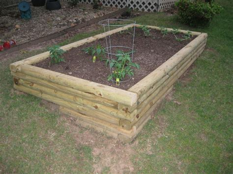 Landscape Timbers Planters Landscape Timber Garden All