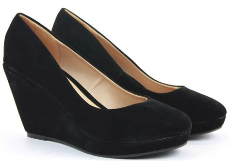 Sepatu Formal Wedges Mengkilapglossy Wedges Formal Shoes womens wedge shoes wedges high heels platform court pumps formal evening size